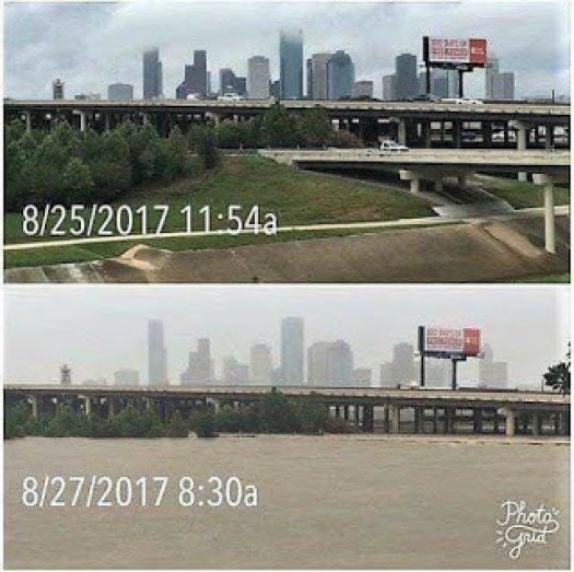 Houston Before And After Flooding