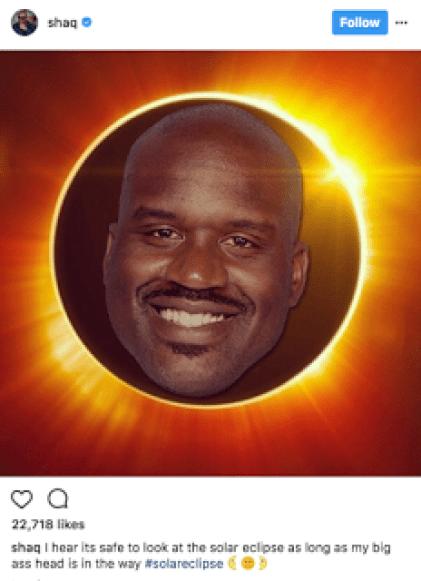 Shaq Solar Eclipse