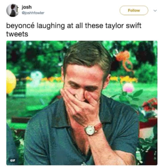 Taylor Swift Beyonce Memes