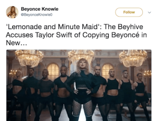 Taylor Swift Lemonade