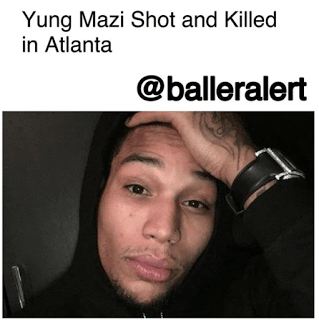 Yung Mazi Shot In Head 2017
