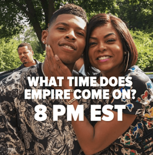 What Time Does Empire Come On?