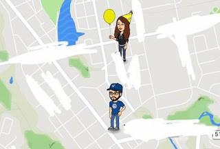Snap Map Actionmoji Birthday
