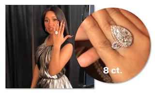 Cardi B Engaged, Ring