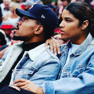 Chance The Rapper Girlfriend Kirsten Corley 2017