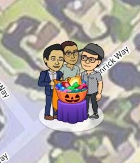 Snap Map Actionmoji Pumpkin Halloween