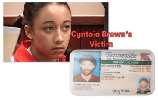 Cyntoia Brown Victim Johnny Mitchell Allen