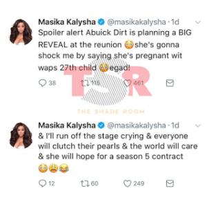 Masika Kalysha Instagram Post