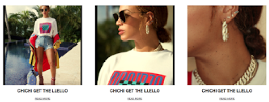 Chichi Get The Llello Beyonce