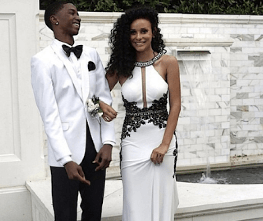Christian Combs Breah Hicks Prom
