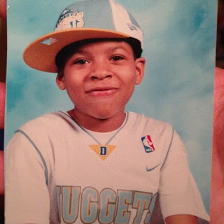 Bryshere Y. Gray As A Child
