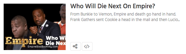who will die on empire