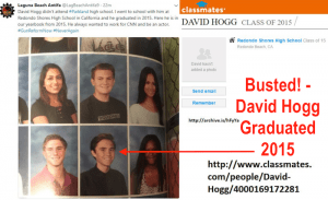 David Hogg Redono Shores High School