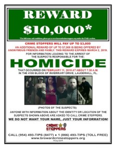 Martin Young Emerald Sr. Murder Wanted Poster