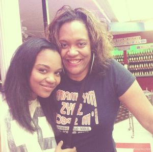 China Anne McClain Mother