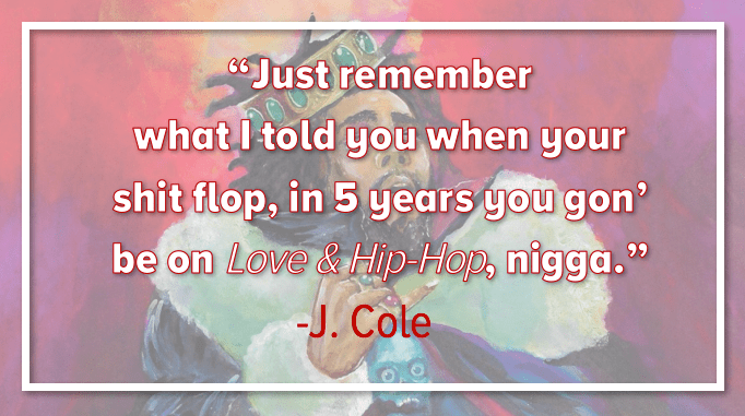 J. Cole Quotes New Album KOD