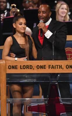 Ariana Grande Pastor Bishop Charles H. Ellis