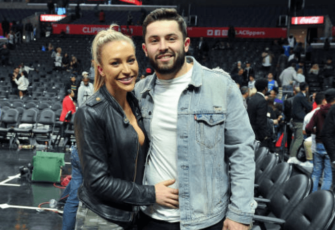 Baker Mayfield Wife Emily Wilkinson