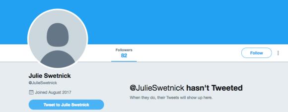 Julie Swetnick Twitter