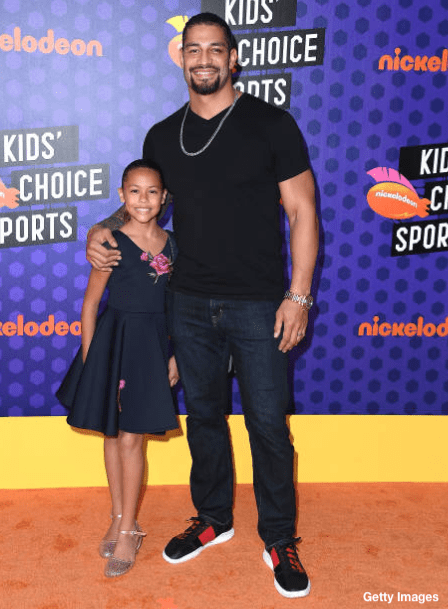 Roman Reigns Daugher Joella JoJo Anoa'i