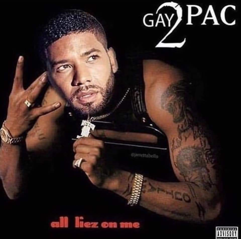 Jussie Smollett Tupac Meme