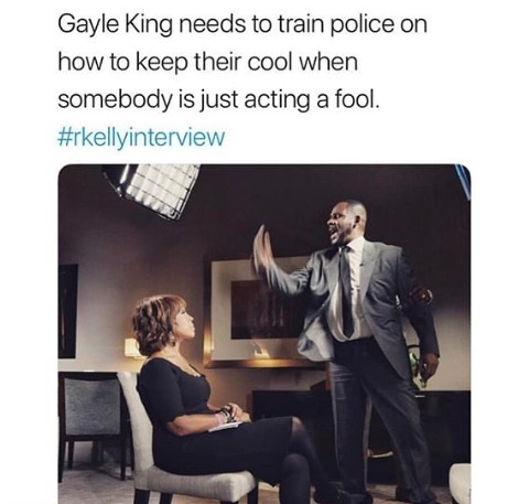 R. Kelly Interview Memes Gayle King