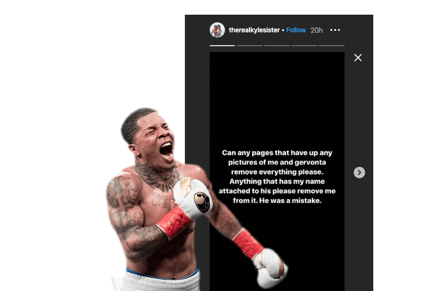Gervonta Davis And Ari Fletcher Breakup