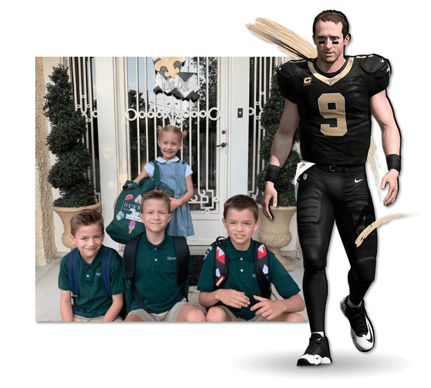 How Many Kids Does Drew Brees Have?