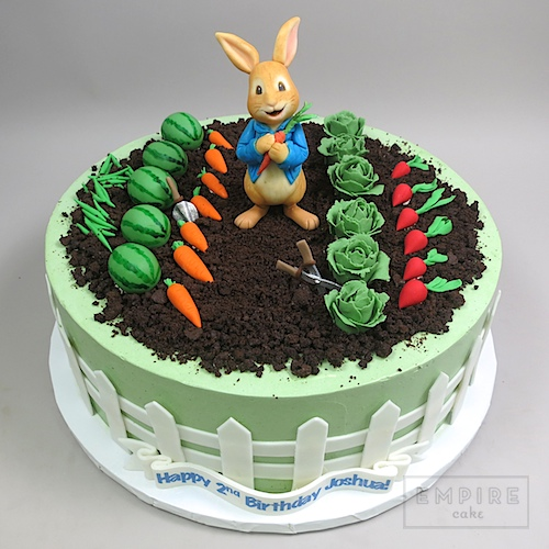 Peter Rabbit And Garden Empire Cake