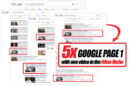 Traffic Trigger 2.0 Review - Page 1 Google - One Video - Wine Niche