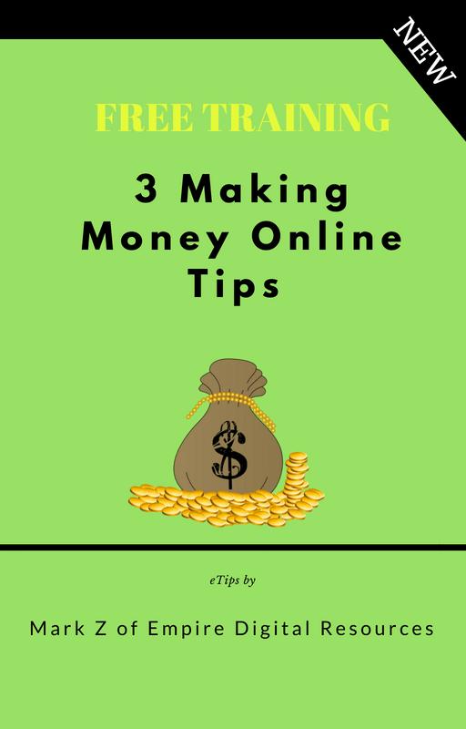 Five Pack Deal : Affiliate Marketing Beginners - 3 Making Money Online Tips