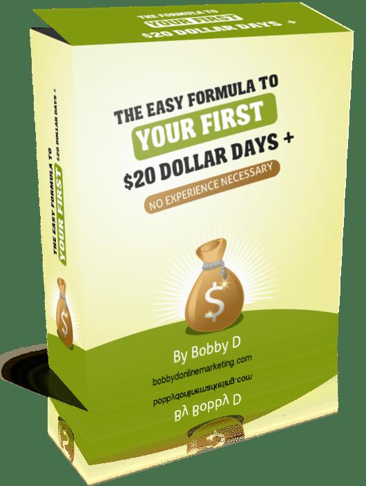 20 Dollar Days Review : Tried Tested Method ALL Affiliates Start + BONUSES!