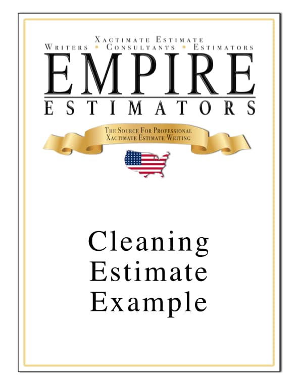 Cleaning Estimate