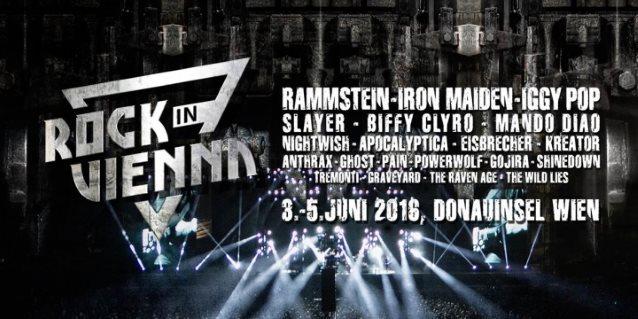 Video Rammstein Performs New Song At Austrias Rock In Vienna