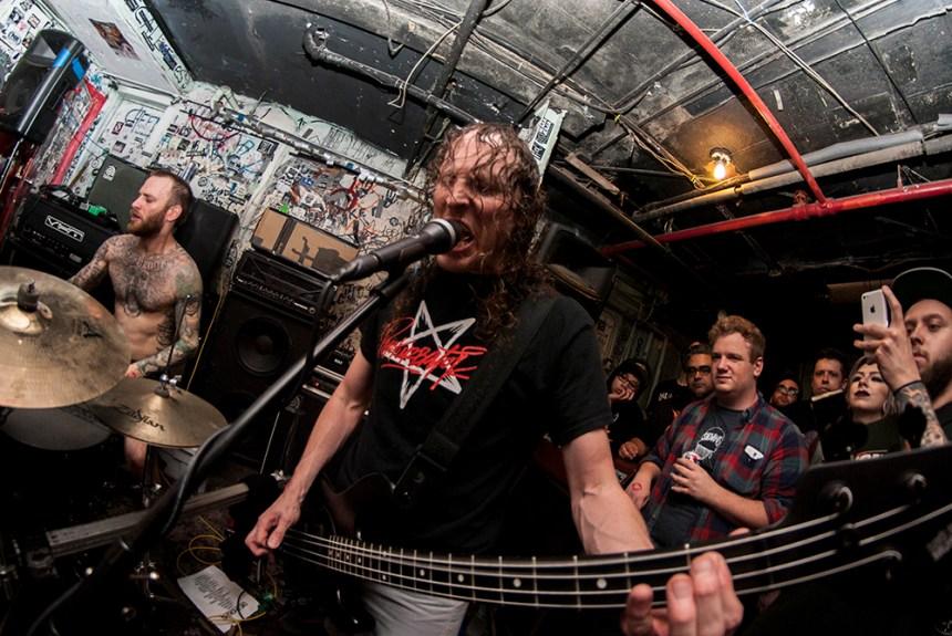 Die Choking Meatlocker 2 May 2016 [photo by Paul Buczkowski]