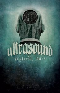 Ultrasound Festival poster illustration by Paul Stier