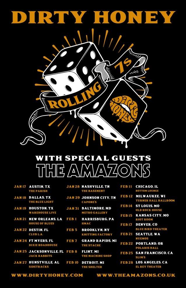 La Events February 2020.Dirty Honey Announces January February 2020 Rolling 7s