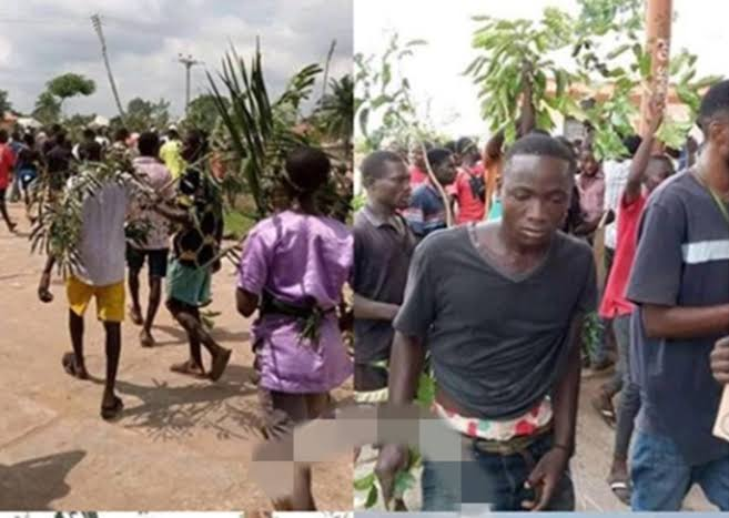 Youths protest in benue