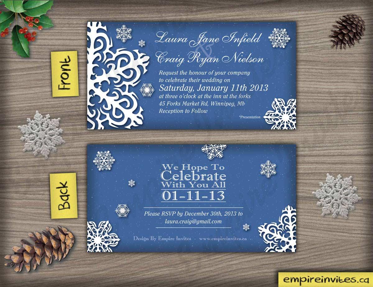 Custom Invitations Edmonton