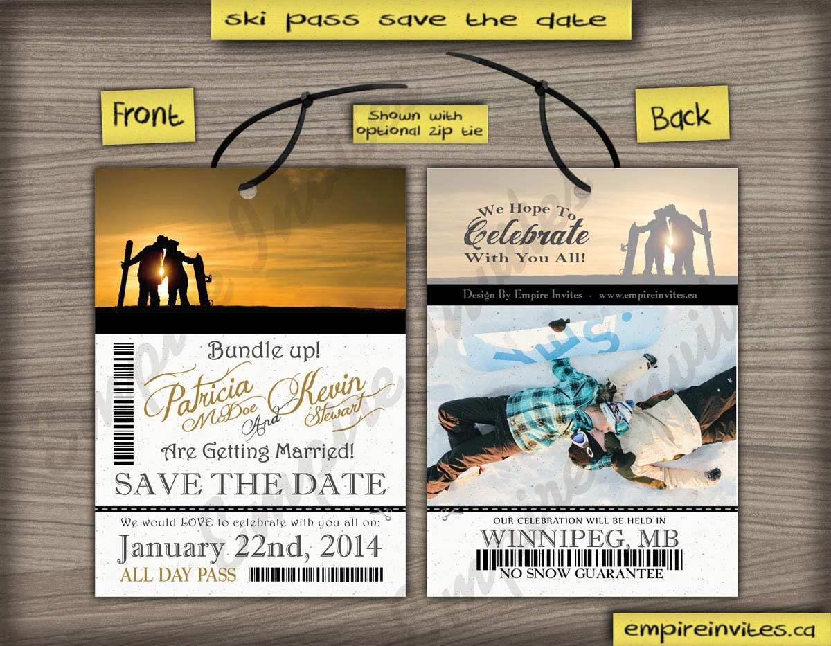 Online Wedding Save Date