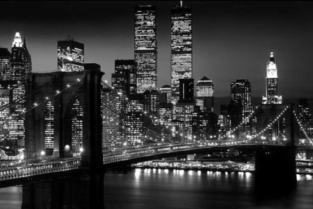 New York  Brooklyn Bridge Version 2  Poster  915x61