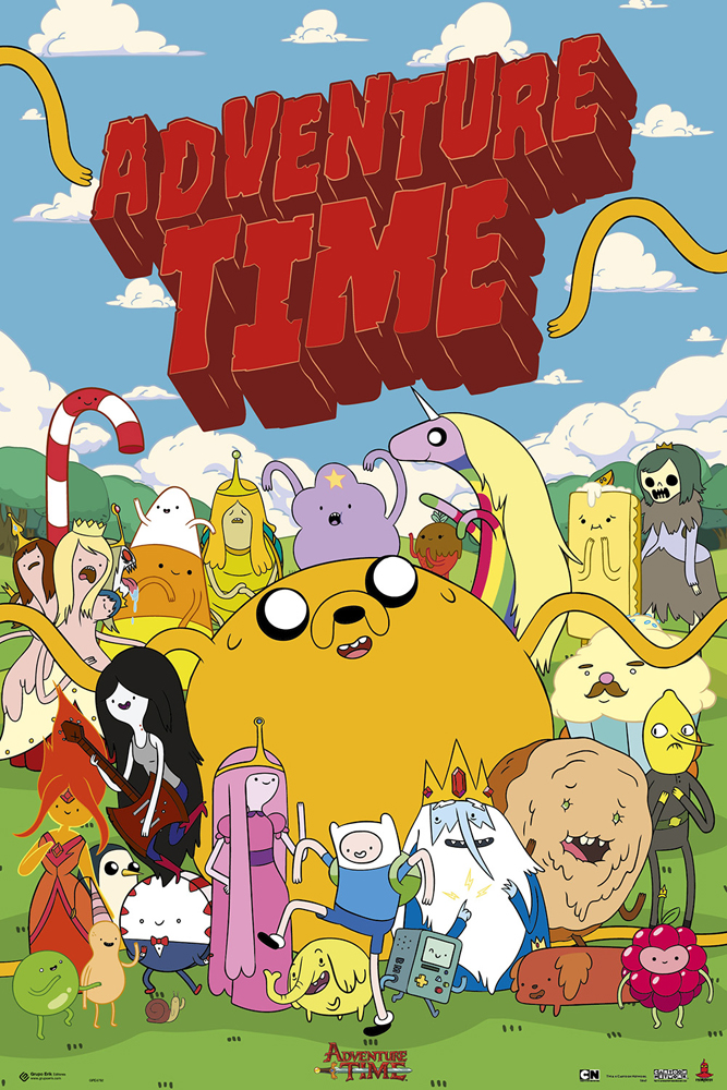 adventure time gruppe poster 61x91 5