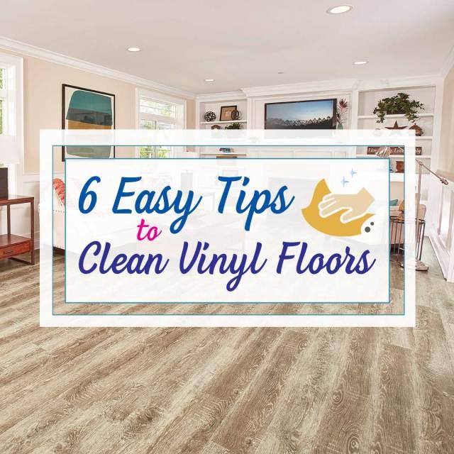 12 Easy Tips to Clean Vinyl Plank Flooring  Empire Today Blog