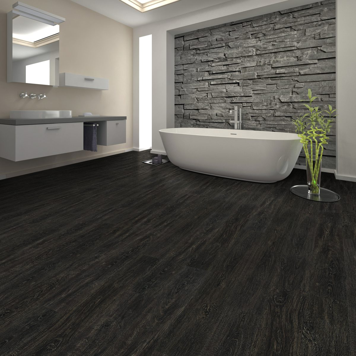 kitchen vinyl flooring latest designs 5 options for kitchens and bathrooms empire today blog