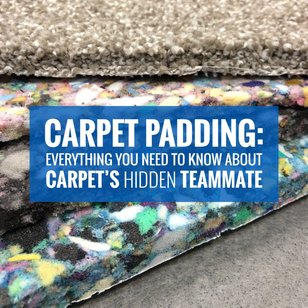 Carpet Padding Types: Everything You Need to Know About