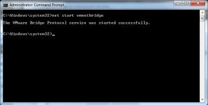 Start the vmnetbridge kernel driver