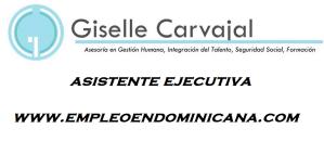 Vacantes Giselle Carvajal empleo para trabajar de inmediato