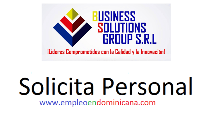 Vacante Business Solutions group empleo inmediato