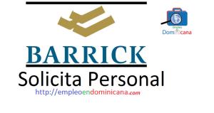 Vacante disponible en Barrick Gold requiere personal