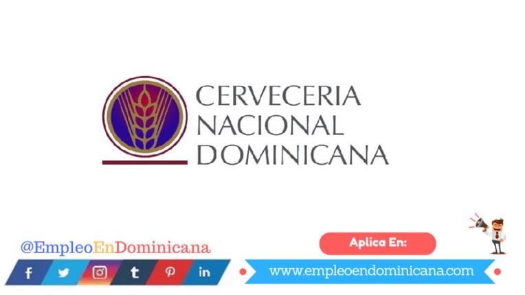 oportunidad laboral en cervecería nacional dominicana